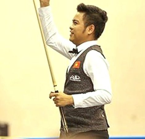 Nguyễn Trần Thanh Tự lập kỷ lục mới cho Billiards Việt Nam
